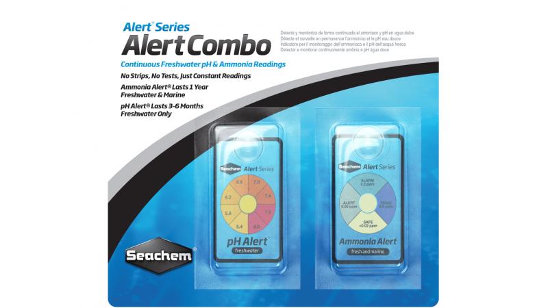 SeaChem – Alert Combo тест за измерване на pH и токсините и амоняка в аквариума