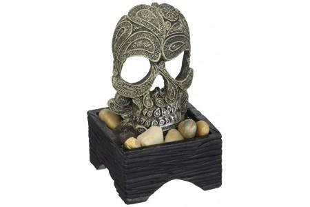 MA Betta Skull Ornament