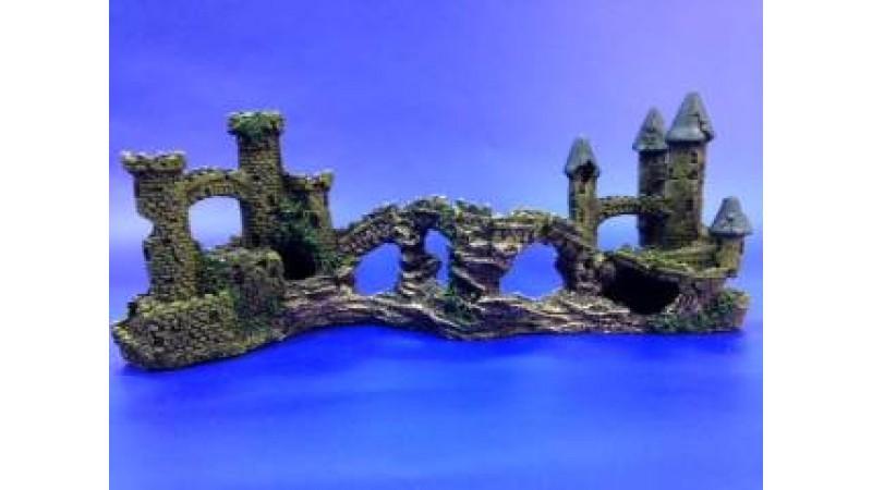 Изкуствена декорация - Стена с кули
