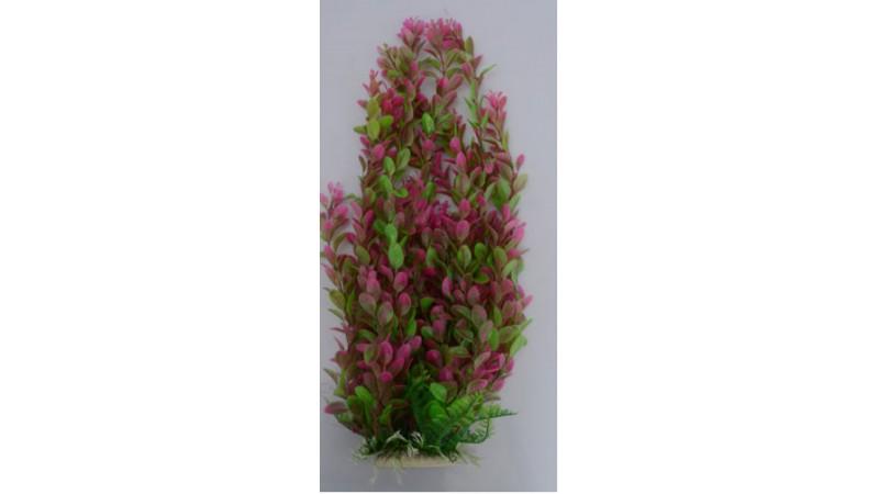 Изкуствена декорация - Лилаво растение