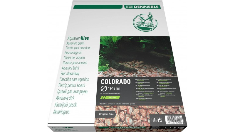 Dennerle Natural gravel Plantahunter Colorado 12­-15мм 5кг
