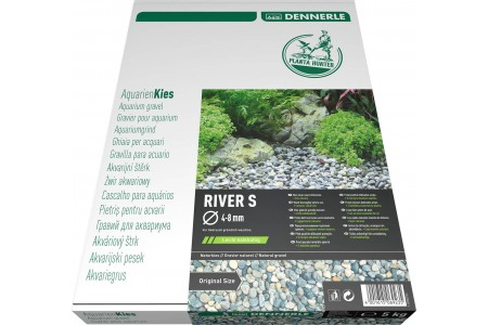 Dennerle Natural gravel Plantahunter River 4-8мм / 8-12мм 5кг