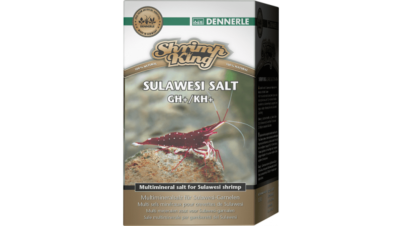 Dennerle Shrimp King Sulawesi Salt 200g