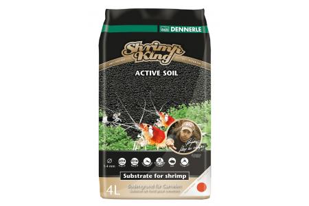 Субстрат Dennerle SK Shrimp Soil 1-4мм 4л / 8л