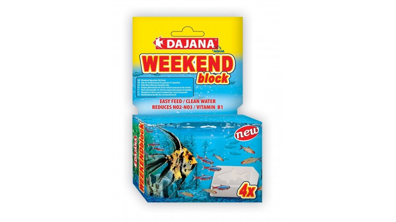Dajana Pet Weekend Block 4 pcs