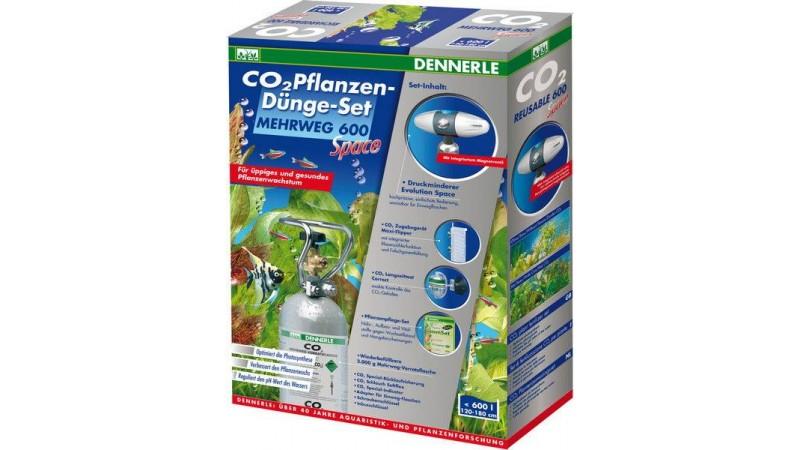 CO2 система за многократна употреба REUSABLE CO2 PLANT FERTILIZER SET 600 SPACE