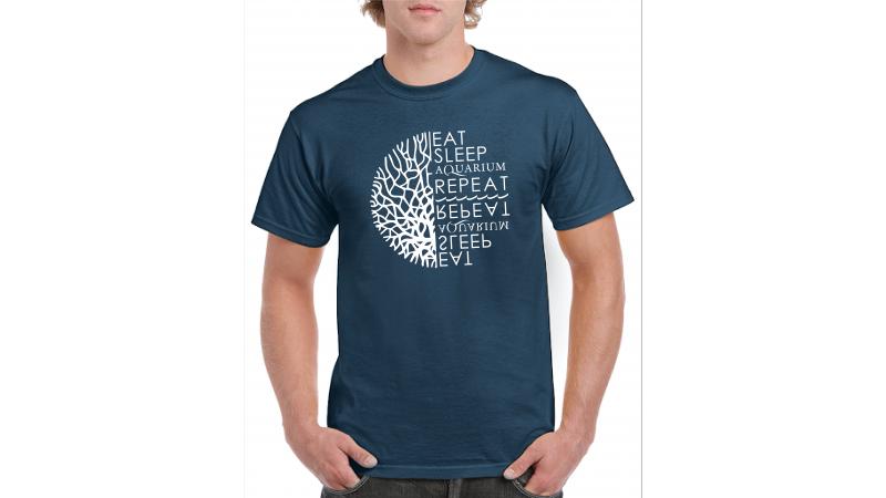 T-shirt NET Eat Sleep Aquarium