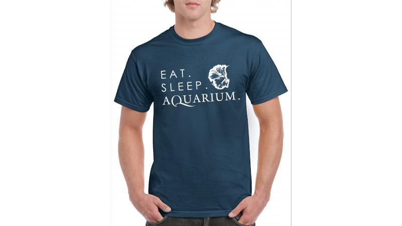 T-shirt BETTA Eat Sleep Aquarium