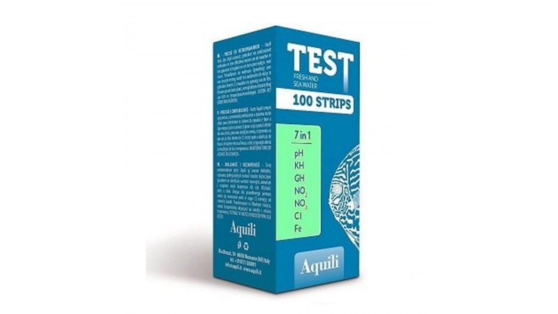 Aq Test 7in1 Fresh Water 100 strips