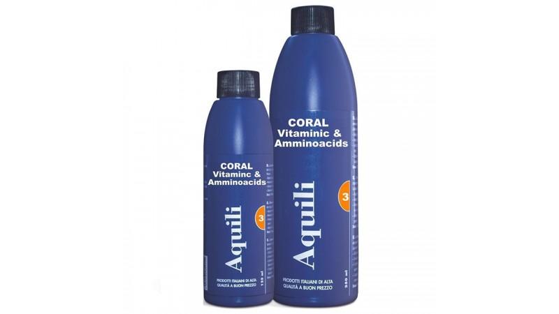 Aquili Coral Vitamins Amino Acids 125ml