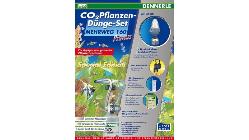 Dennerle CO2 Plant Fertilizer Set Special Edition 160 Primus