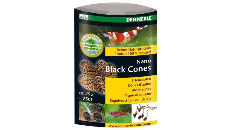 Dried black alder cones Dennerle Nano Black Cones