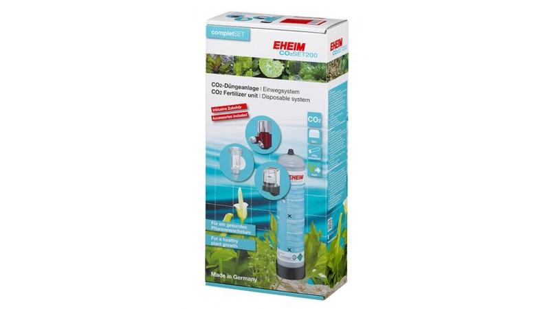 Система за въглерод EHEIM CO2- SET200 500гр с не презареждаща се бутилка
