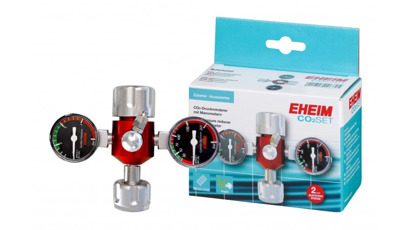 Pressure reducer with manometers EHEIM CO2-SET