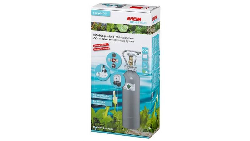 Система за въглерод EHEIM CO2- SET600 500гр с презареждаща се бутилка
