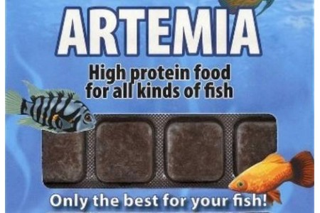 Frozen food Ruto Artemia 100 g / 24 blisters