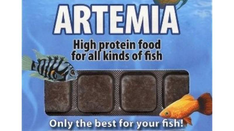 Frozen food Ruto Artemia 100 g / 24 blisters