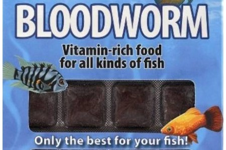 Frozen food Ruto Bloodworm 100 g / 24 blisters
