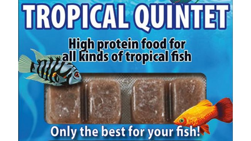 Frozen food Ruto Tropical Quintet  100 g / 24 blisters