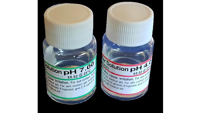Разтвор pH4 и pH7