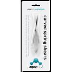 Aquavitro curved spring shears 15cm