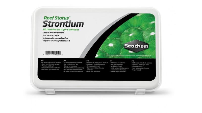 SeaChem ReefStatus Test Strontium