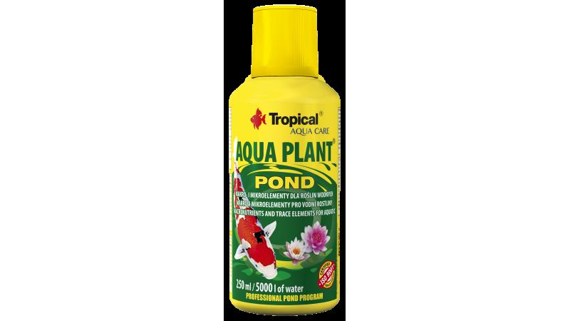 TROPICAL AQUA PLANT POND îngrășământ fluid pentru plante din iazurile de grădină