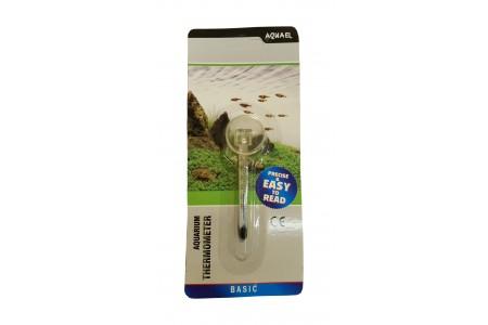Стъклен термометър AquaEL 6см нано