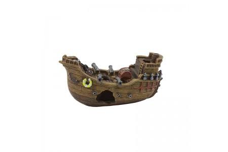 Artificial decoration Battle ship