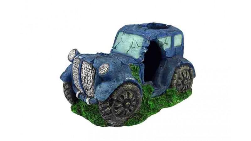 Изкуствена декорация - Кола синя
