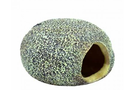 Artificial decoration Stone with a hole S