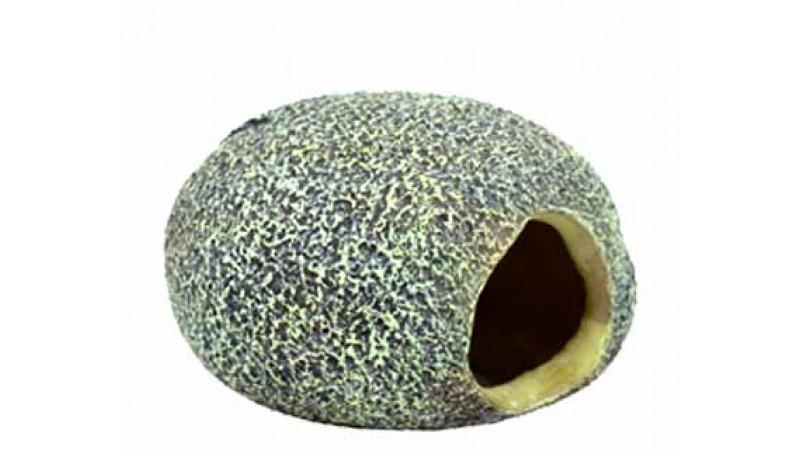 Изкуствена декорация - Камък с дупка S