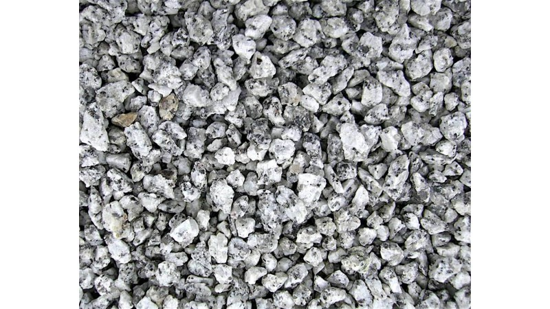 Gravel White & Black 6-8mm 2kg