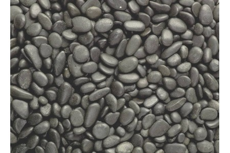 "Natural river gravel ""Black River"" 4-6mm / 6-8mm 2kg"