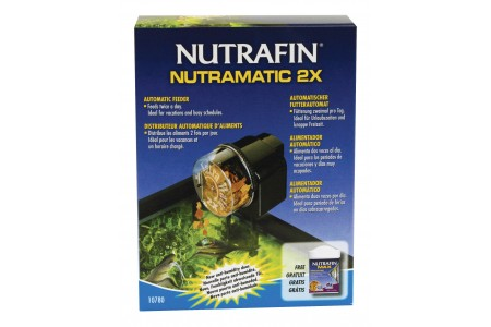 Automatic fish feeder Nutrafin Nutramatic 2x