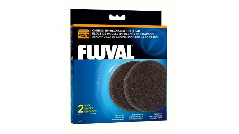 Филтърна вата с активен въглен Fluval