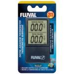 Fluval Digital Aquarium Thermometer 2in1