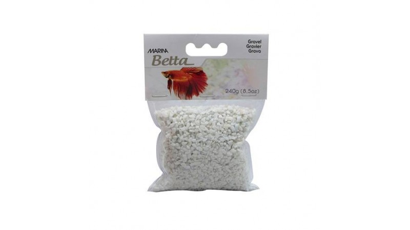 Aquarium gravel epoxy Marina - White
