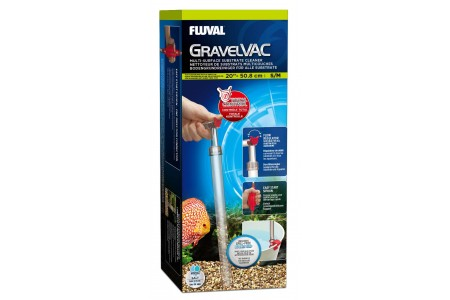 Сифон Fluval GravelVac S/M