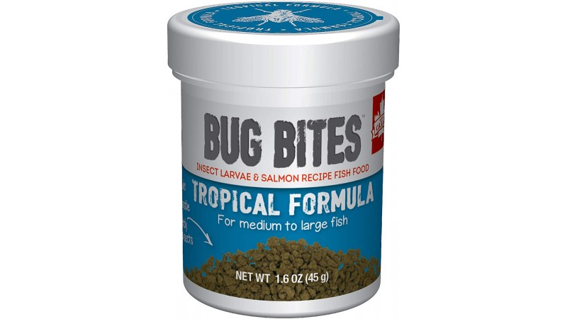 Fluval Bug Bites Tropical Formula Gran S/ M