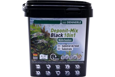 Dennerle Deponit Mix Black 10 in 1 Substrate
