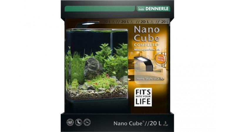 Аквариум Dennerle NanoCube Complete+ LED 20л