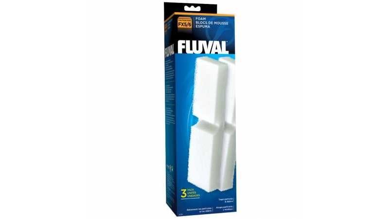 Резервна вата за филтър Fluval FX4/5/6 Filter 3 бр.