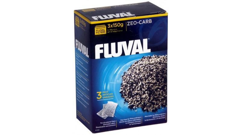 Fluval Zeo-Carb 450 гр. ( 3x150 )