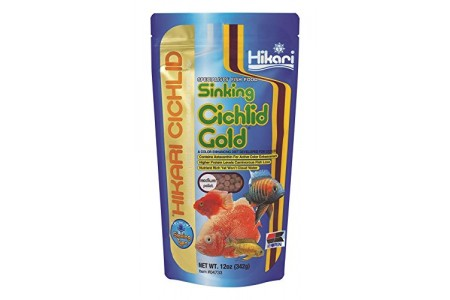 Hikari Cichlid Gold Sinking Food Medium Pellet 100g/342g