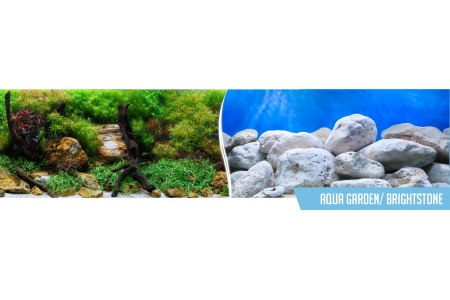 Фон за аквариум Aqua Garden / Brightstone двулицев