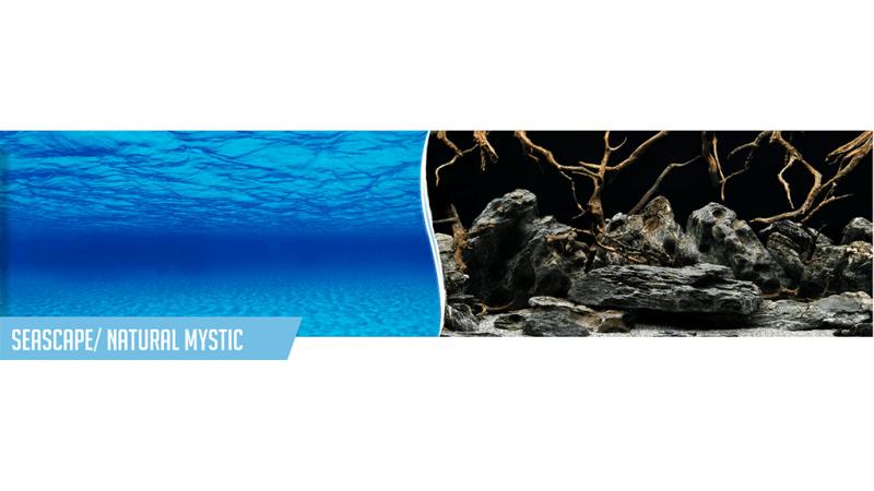 Фон за аквариум Seascape / Natural Mystic двулицев