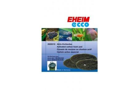 Резервна вата с активен въглен за външен филтър EHEIM Ecco Pro 130/300