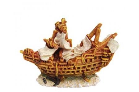 Изкуствена декорация - Британски мини кораб
