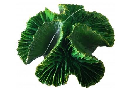 Изкуствена декорация - Зелен корал